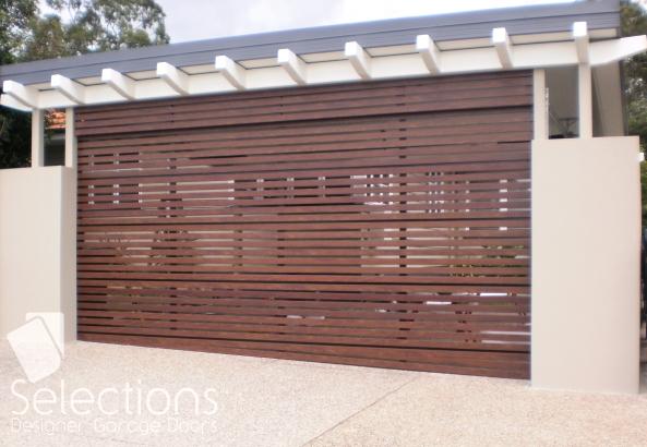 Horizontal/Vertical Slat Door Range | Selections Designer Garage Doors